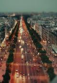 法国巴黎香榭丽舍大道 640x960壁纸下载