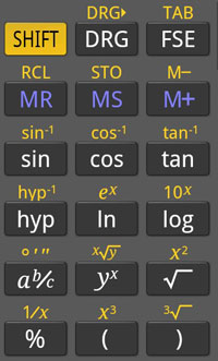 科学计算器 RealCalc  v1.74 for Android Pad