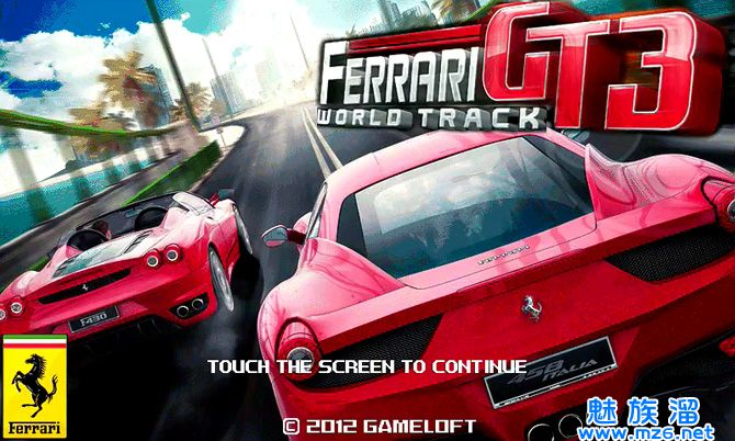 法拉利赛车 ferrari gt3 v1.1.1下载高清图片