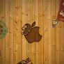 田园木墙壁纸